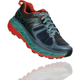 Hoka One One Stinson ATR 5 Zapatillas Running Hombre, stormy weather/forest night